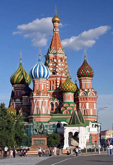 Cerkiew Wasyla Błogosławionego (Moskwa) puzzle