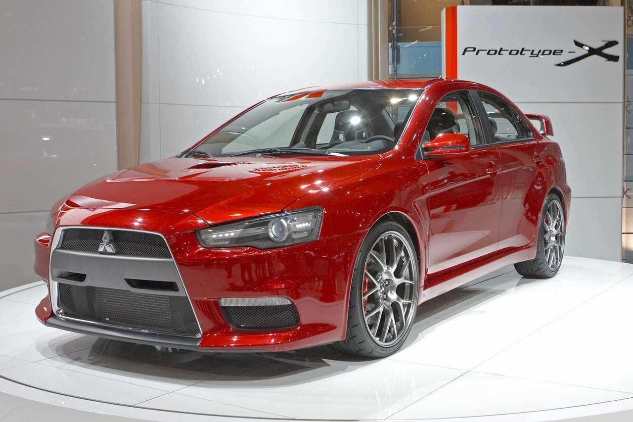 Mitsubishi Prototype X - Mitsubishi Prototype X jest samochodem studyjnym, na bazie którego powstanie Lancer Evolution X, który ma trafić do sprzedaży pod koniec 2007 roku. Od wersji ostatecznej Evo, Prototype-X różnią (9×6)