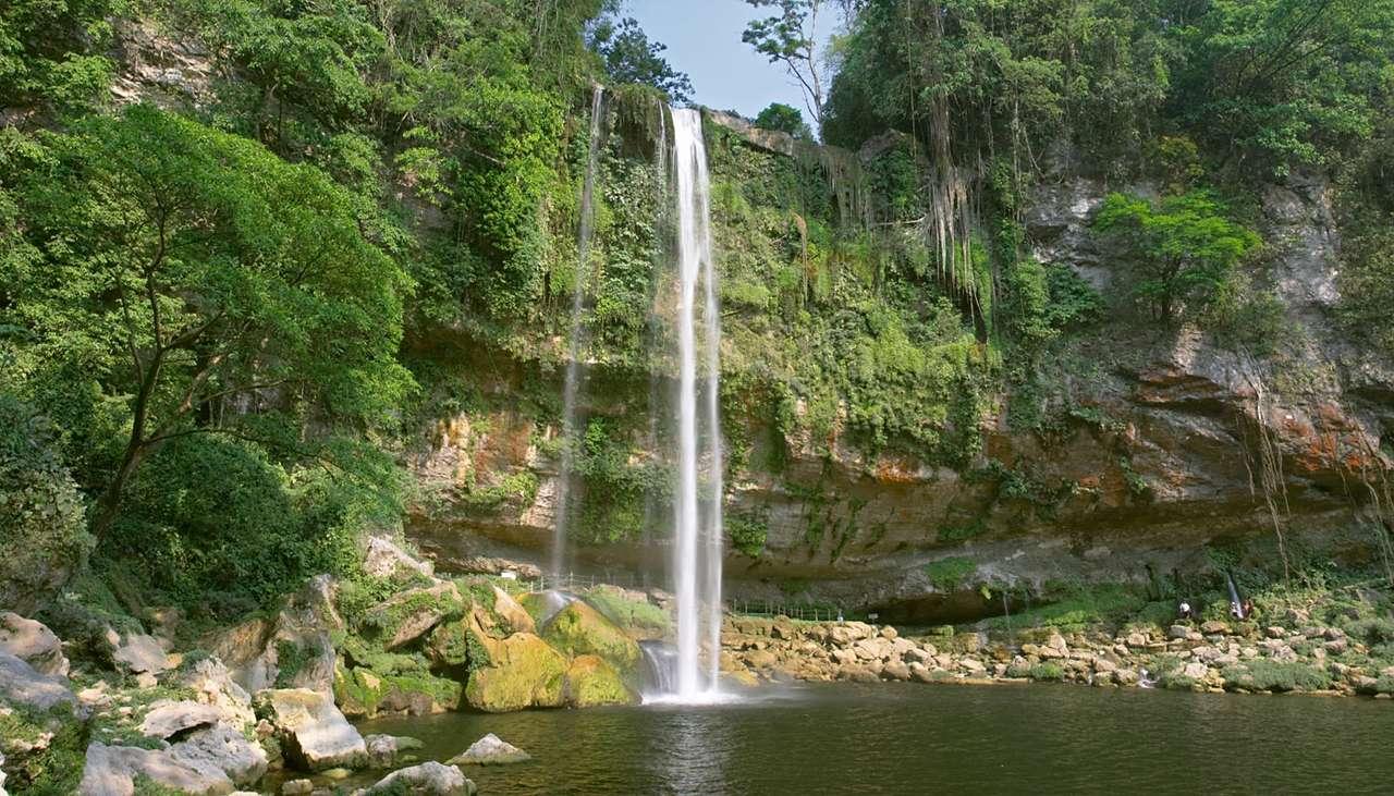 Wodospad Misol-Ha (Meksyk)