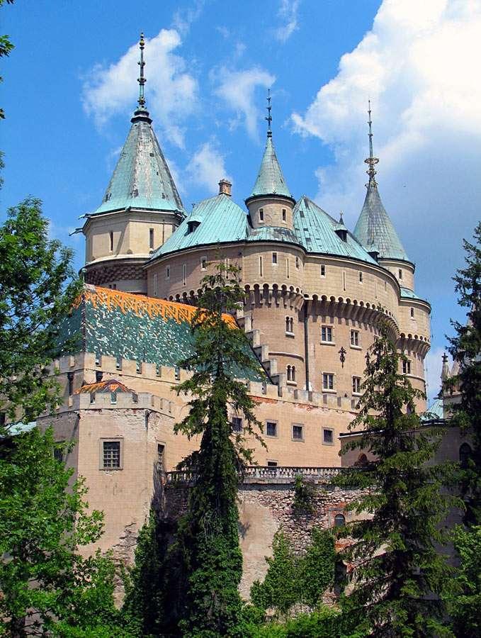 Zamek w Bojnicach (Słowacja)
