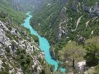 Przełom rzeki Verdon (Francja)