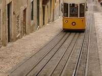 Funikular w Lizbonie (Portuagalia)