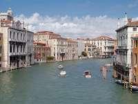 Kanał Grande w Wenecji (Włochy)
