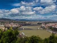 Panorama Budapesztu (Węgry)