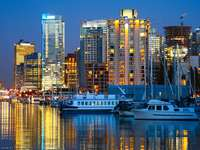 Przystań w Vancouver (Kanada)