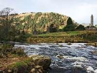 Wieś Glendalough (Irlandia)