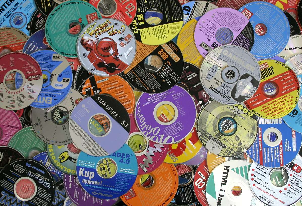 Płyty kompaktowe CD-ROM