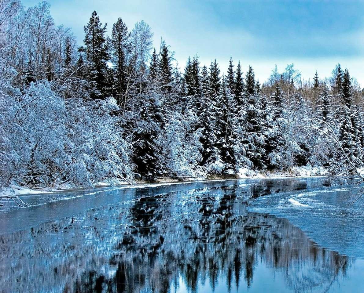 Krajobraz północnej Szwecji