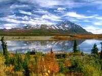 Lądowisko dla hydroplanów na Alasce (USA)