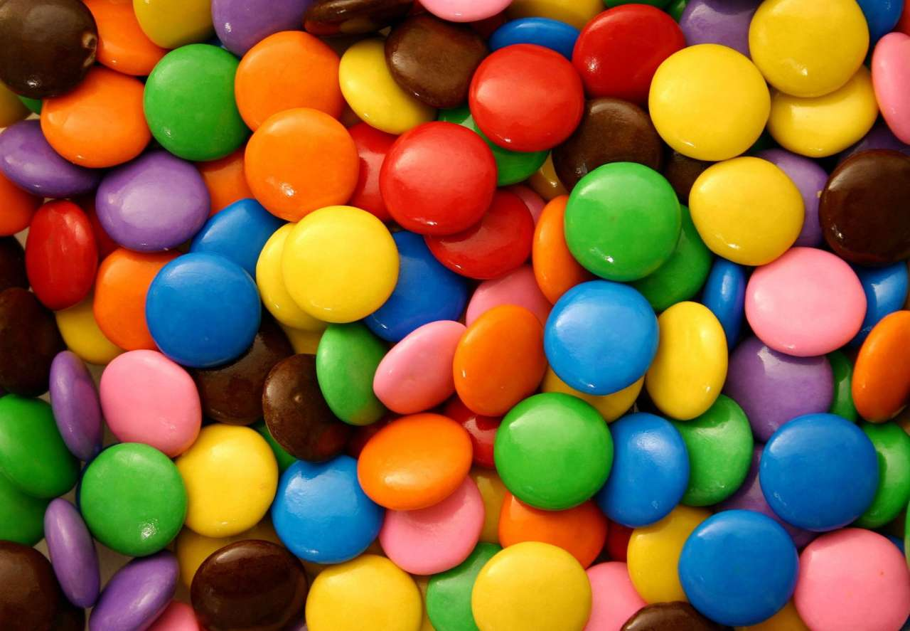 Draże czekoladowe - Lubiane przez dzieci, dzięki swojemu smakowi i bajecznym kolorom, czekoladowe draże (19×13)