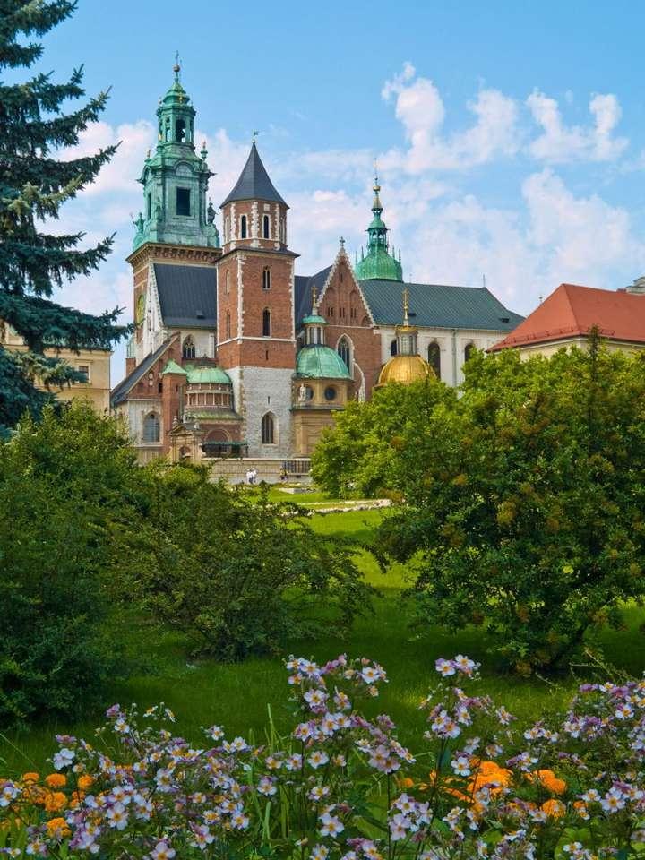 Katedra na Wawelu - Bazylika archikatedralna św. Stanisława i św. Wacława w Krakowie położona jest na Wzgórzu Wawelskim. Jest to miejsce zarówno koronacji, jak i wiecznego spoczynku wielu królów Polski. Poza kr (6×8)