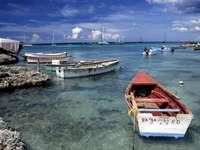 Zatoka w pobliżu Bayahibe (Dominikana)