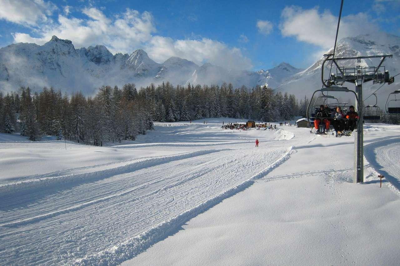 Nartostrada w Alpach (Włochy)
