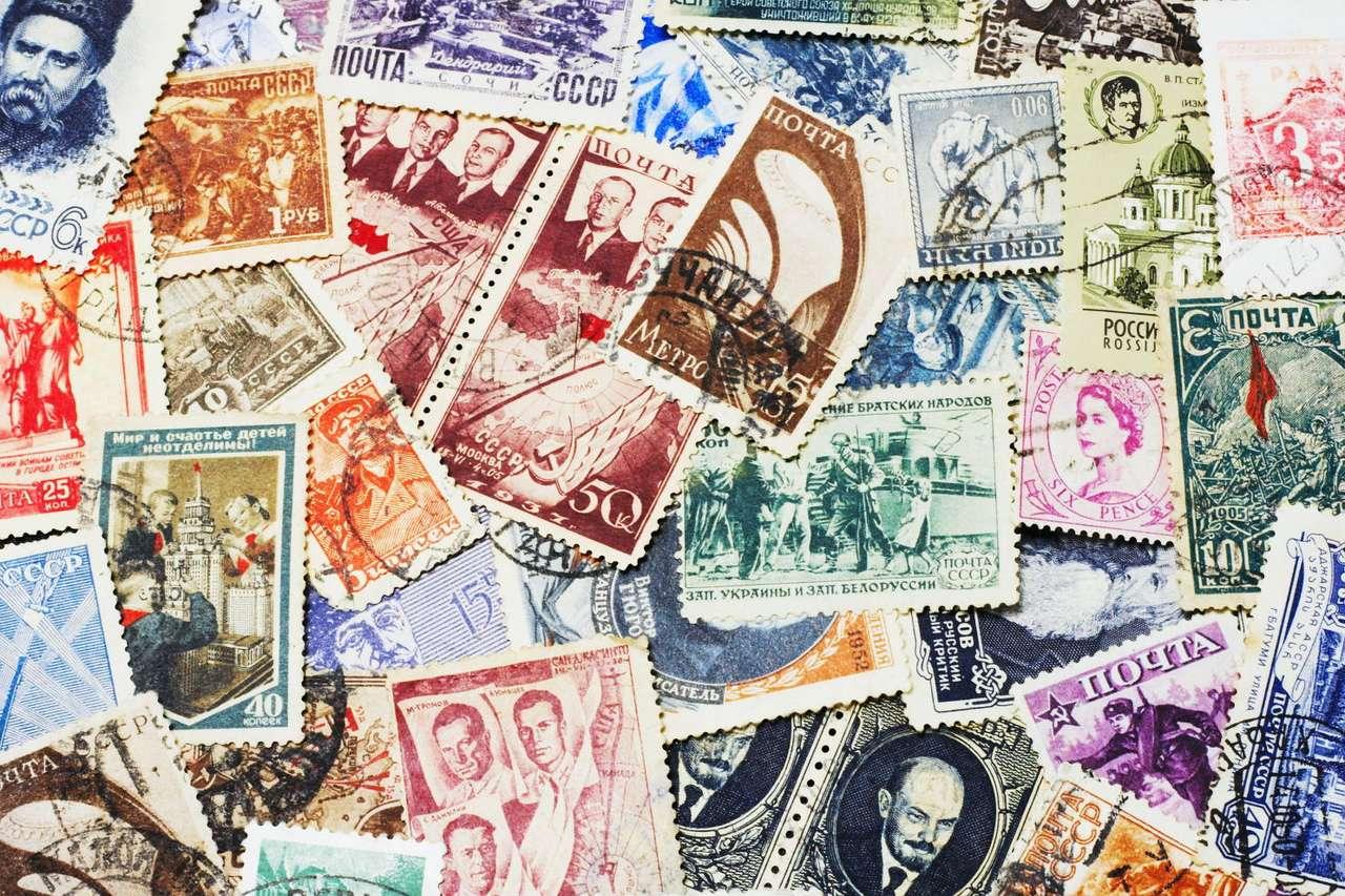 Radzieckie znaczki pocztowe