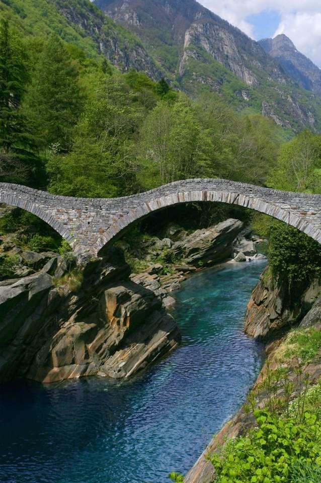 Ponte dei Salti (Szwajcaria) -  (7×10)