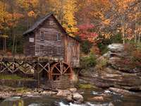 Glade Creek Grist Mill (USA)