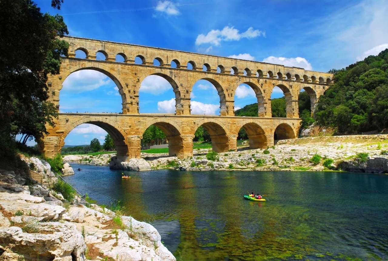Akwedukt Pont du Gard (Francja) puzzle