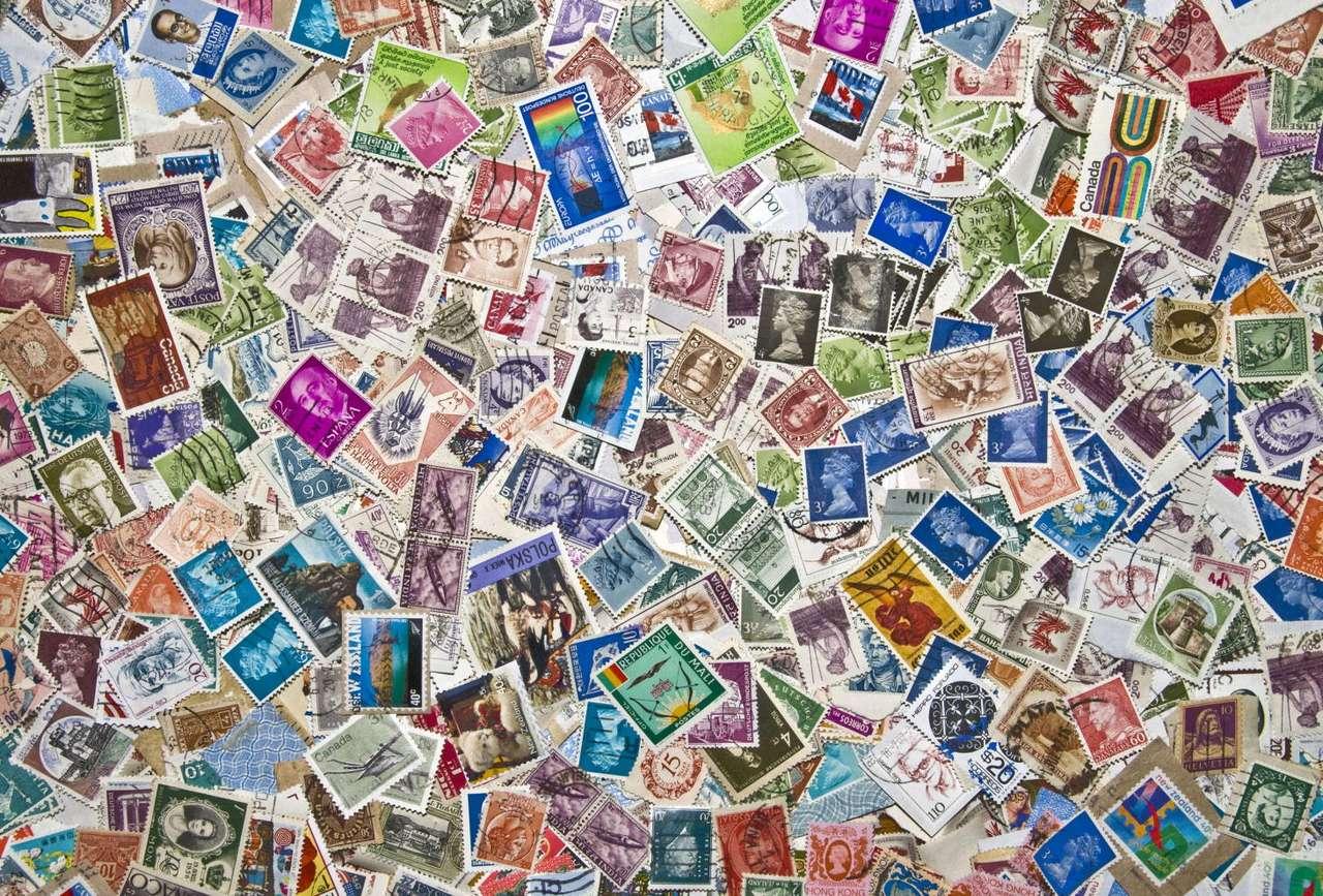 Kolekcja znaczków z całego świata
