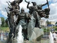 Pomnik założycieli Kijowa (Ukraina)