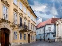 Starówka w Bratysławie (Słowacja)