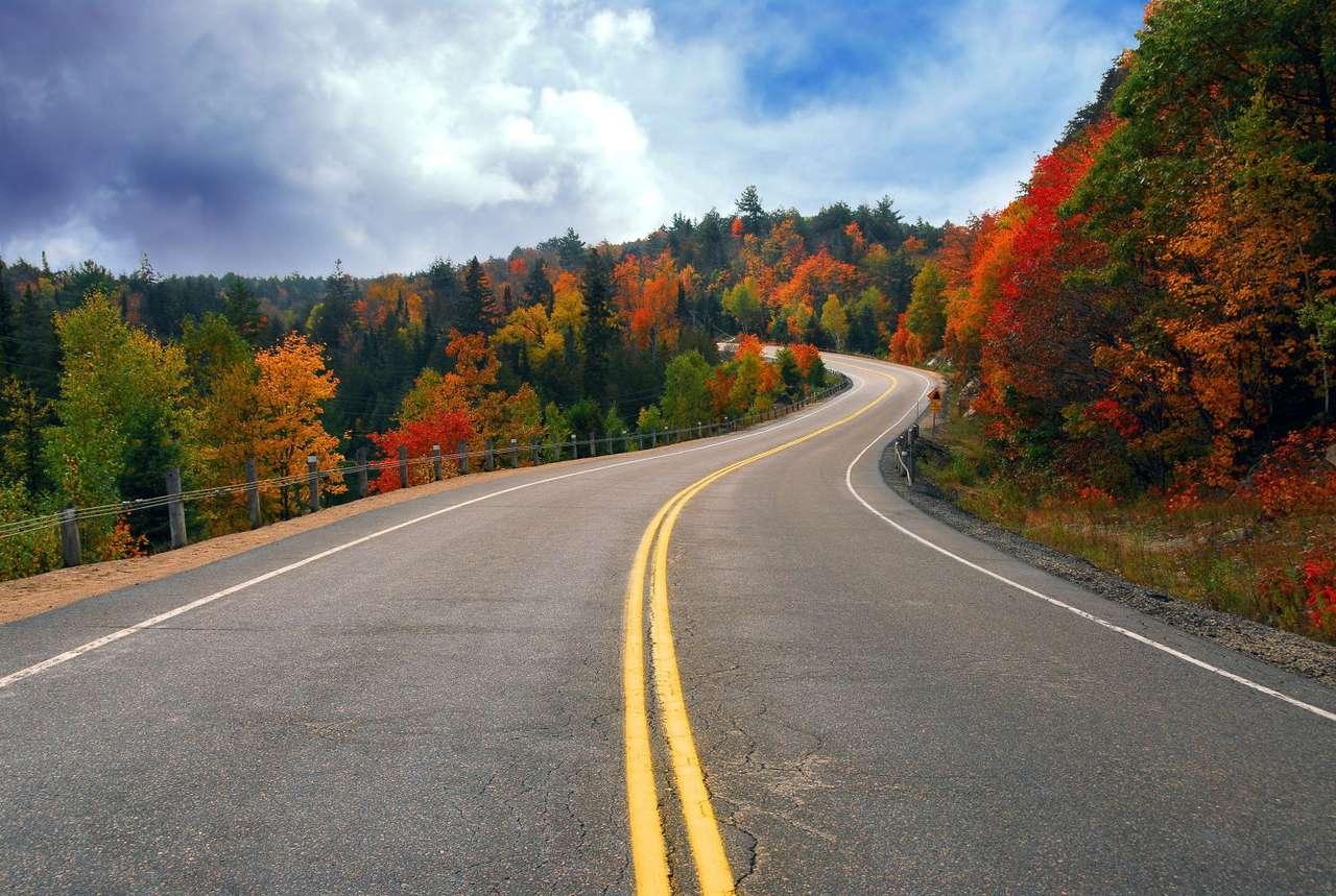 Jesień w Ontario (Kanada)