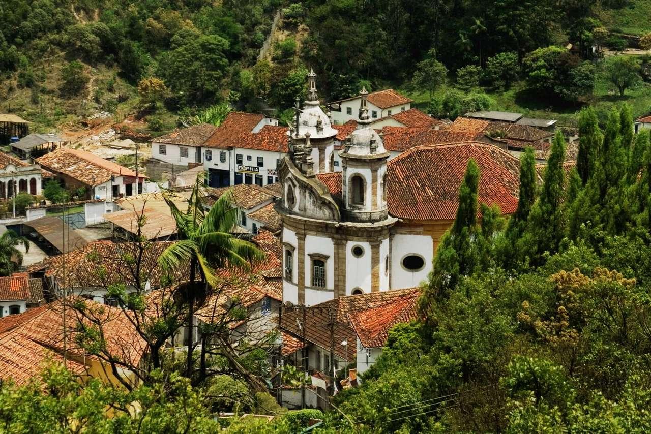 Kościół w Ouro Preto (Brazylia)