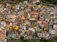 Domy na Sardynii (Włochy)