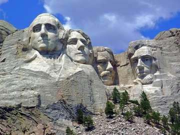 Mount Rushmore National Memorial (USA)