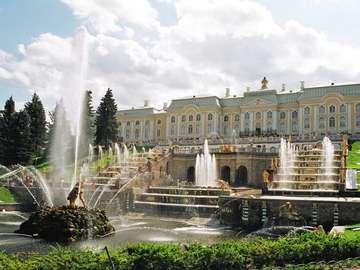 Peterhof - Wielki Pałac (Rosja)