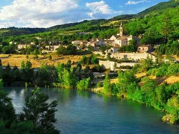 Miasteczko Sisteron (Francja)