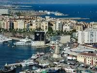 Port Vell w Barcelonie (Hiszpania)