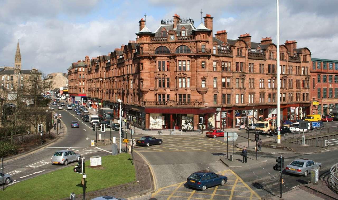 Glasgow (Wielka Brytania) - Glasgow to największe miasto Szkocji (Wielka Brytania). Historia miasta jest nierozerwalnie związana z rzeką Clyde, nad którą jest położone. To dzięki rzece i bogatym kupcom w XVIII wieku pows (13×7)