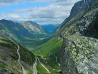 Dolina Isterdalen i Drabina Trolli (Norwegia)