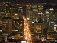 San Francisco nocą (USA)