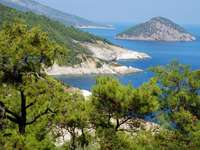 Wybrzeże Thasos (Grecja)
