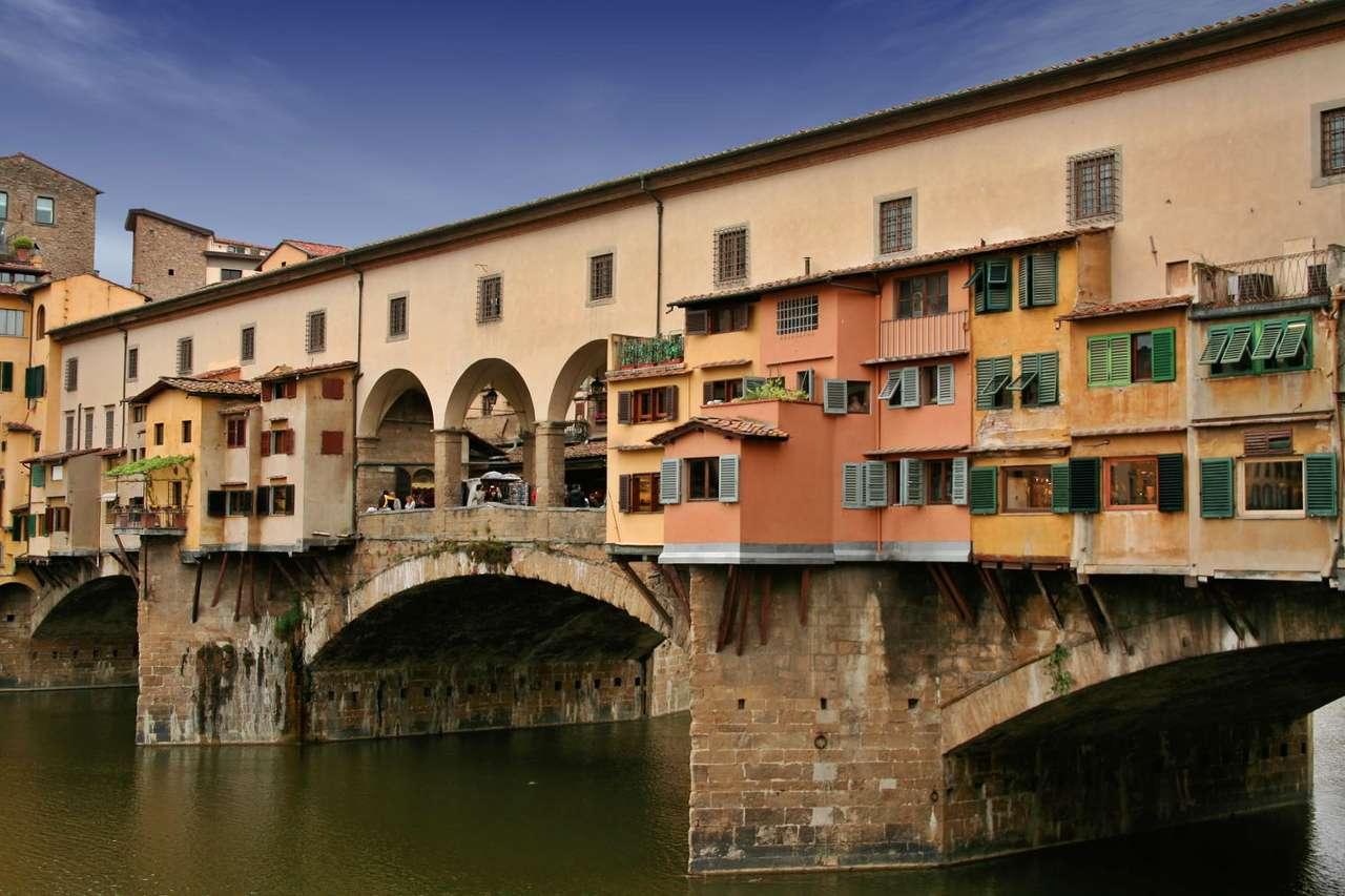 Most Złotników we Florencji (Włochy) - Ponte Vecchio (dosłownie Stary Most), znany w Polsce jako Most Złotników, to najstarszy most we Florencji (Włochy). Środniowieczna, kamienna konstrukcja, łącząca brzegi rzeki Arno, pochodzi z (9×6)