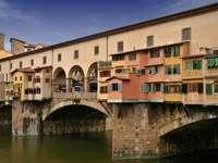 Most Złotników we Florencji (Włochy)