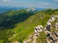 Górski krajobraz (Słowacja)