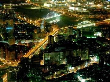 Tajpej nocą (Tajwan)