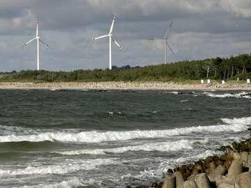 Wybrzeże Bałtyku w Darłowie