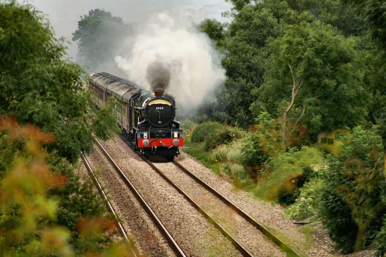 Lokomotywa Król Edward I - Król Edward I to parowóz należący do klasy GWR 6000. Wyprodukowany został w roku 1930 przez Great Western Railway z myślą o ekspresowych przewozach pasażerskich. Od 1927 do 1930 wyprodukowano (12×8)