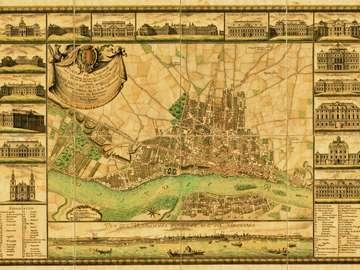 Plan Warszawy Antonia Rizzi Zannoniego