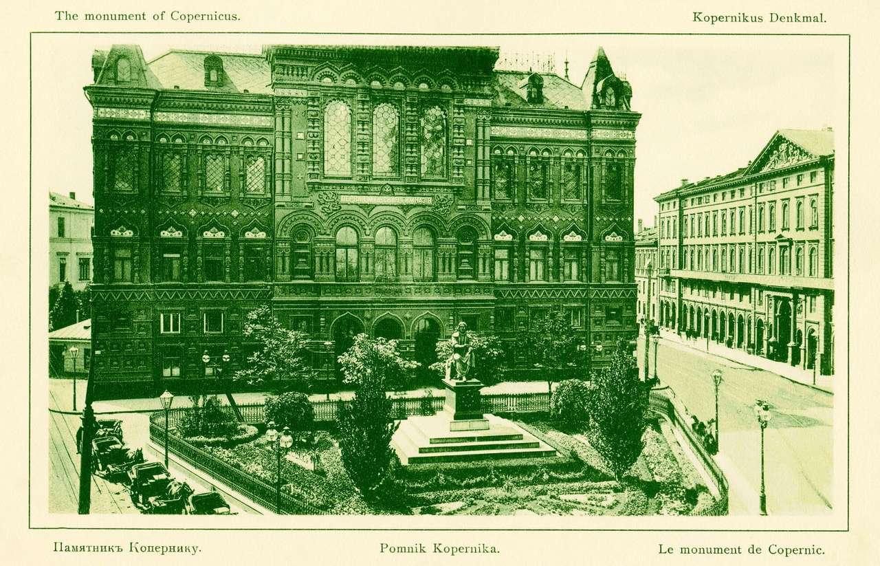 Pomnik Mikołaja Kopernika -  (14×9)
