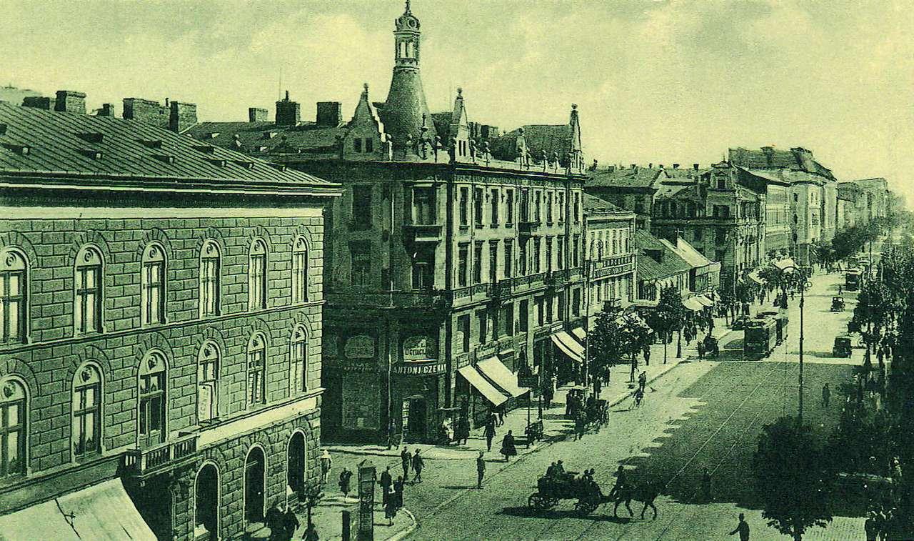 Ulica Marszałkowska - Ulica Marszałkowska w dwudziestoleciu międzywojennym (12×5)