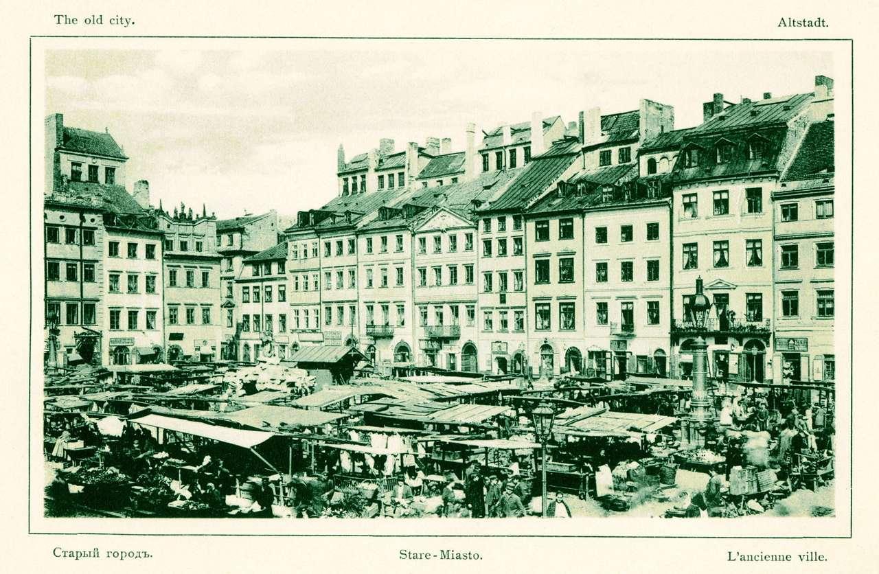 Targowisko na Rynku Starego Miasta