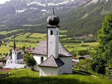 Alpejska wioska (Austria)