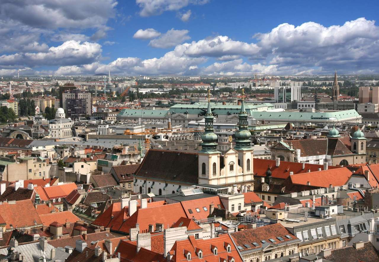 Wiedeń (Austria) puzzle ze zdjęcia