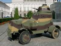 Samochód pancerny wz. 34 puzzle ze zdjęcia