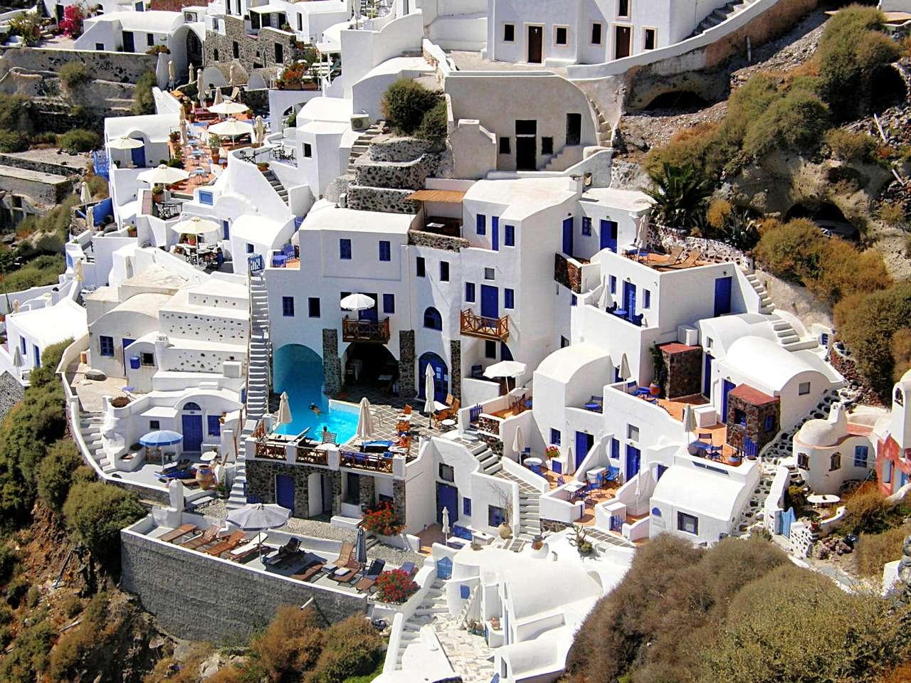 Oia (Grecja) puzzle