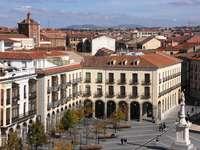 Plac Św. Teresy w Avila (Hiszpania)